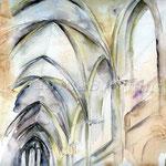 die Katedrale I 2011 (2) / Watercolour 24x34cm  ©janinaB.
