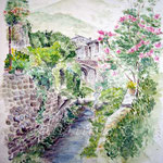 Landscape I 2008 (2) / Watercolour 30x40cm ©janinaB.
