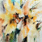Sunflower-2011 (1) / Watercolour 27x39cm