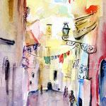 CITY_ITALY_2011_05 (O2) / Watercolour 18x25cm  ©janinaB.