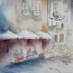 Vernazza I / Watercolour 22x30cm Fabriano © janinaB. 2016