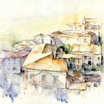 Orvieto (24) / Watercolour 30x40cm © janinaB.