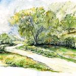 Landscape IV 2010 (6) / Watercolour 30x40cm © janinaB.