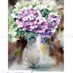 Flowers XII 2017 (120) / Watercolour 30x40cm © janinaB. 2017