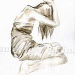 Traurigkeit (23) / Watercolour 24x32cm