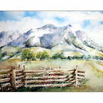 Telluride Colorado (11) / Watercolour 30x40cm