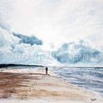 sea-landscape-II-2008-(3) / Watercolour 30x40cm ©janinaB.