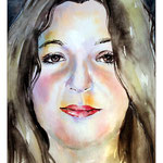 Elaine Vasconcellos (O2) / Watercolour 20x30cm