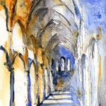 die Katedrale II (O2) / Watercolour 17x24cm  ©janinaB.