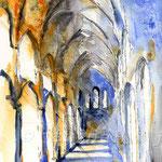 die Katedrale II (O6) / Watercolour 17x24cm  ©janinaB.