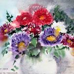 Flowers XV 2018 (20) / 24x32cm Watercolour by ©janinaB.