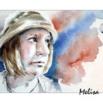 Melisa (O1) / Watercolour 20x30cm