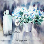 Still life IX 2018 (21) / 30x40cm Watercolour by ©janinaB.