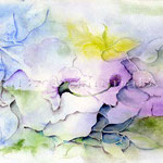 Flower I 2010 (O2) / Watercolour 17x24cm