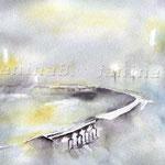 Landscape XII 2011 (O6) / Watercolour 18x25cm  ©janinaB.