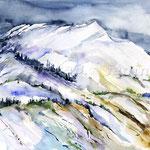 Landscape X 2011 (18) / Watercolour 30x40cm  ©janinaB.