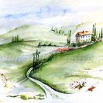 Landscape III 2009 (2) / Watercolour 24x32cm  ©janinaB.