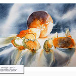 Orange I 2017 (20) / Watercolour 30x40cm ©janinaB.2017