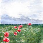 Landscape II 2008 (2) / Watercolour 30x40cm ©janinaB.