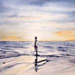 sea landscape II 2012 (2) / Watercolour 30x40cm ©janinaB.