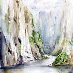 Landscape X 2011 (12) / Watercolour 30x40cm  ©janinaB.