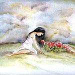Rosie H. (16) / Watercolour 24x32cm / insp Rosie Hardy