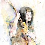 Life-is-wonderful-(13) / Watercolour  24x34cm