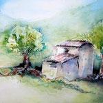 Landscape V 2012 (16) / Watercolour 24x33cm ©janinaB.