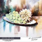 still life VII 2016 (4) / Watercolour 30x40cm on Arches CP © janinaB. 2016
