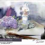 still life X 2016 (4) / Watercolour 30x40cm  on Fabriano CP © janinaB. 2016