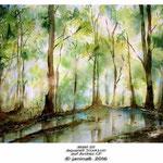 Wald III / Aquarell 30x40cm auf Arches CP © janinaB. 2016