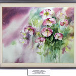 Flowers II 2017 / Watercolour 30x40cm on Fabriano CP © janinaB. 2017