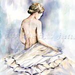 Perlenkette (23) / Watercolour  30x40cm