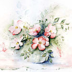 wilde-Rosen-(1) / Watercolour 30x40cm  © janinaB.