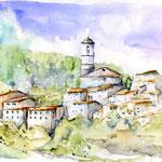Ciutadilla (6) / Watercolour 30x40cm  ©janinaB.