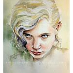 Kate / Aquarell auf Arches 22x29cm