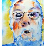 Pat Hayes (O1) / Watercolour 12x17cm