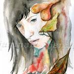 der Herbst kommt (12) / Watercolour 24x32cm