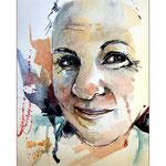 Melissa (O1) / Watercolour 17x24cm