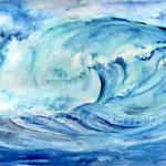 Brecher (12) / Watercolour 24x34cm  ©janinaB.