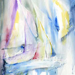 Sturm II (12) / Watercolour 24x34cm  ©janinaB.