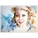 Elisabeth / Watercolour 30x40cm (23)