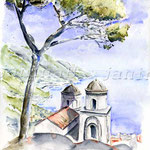 Ravello (6) / Watercolour 30x40cm  ©janinaB.