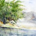 Landscape-VII-2011-(7) / Watercolour 30x40cm  ©janinaB. insp. Fabio Cembranelli