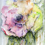 Abstract flower II 2010 (9) / Watercolour 24x32cm