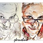 jkruehne (O2) / Tusche und Aquarell auf Aquarellpapier 18x24cm