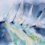Sturm-(12) / Watercolour 30x40cm  ©janinaB. / insp. Jean Haines