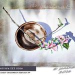 still-life-III-2016 (T3) / Watercolour 30,5x45cm Fabriano CP © janinaB. 2016