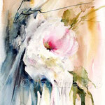 Rose (O1) / Watercolour 18x25cm / insp. Fabio Cembranelli
