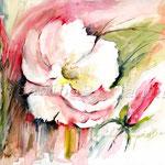 Flowers VI (17) / Watercolour 30x40cm / insp. Fabio Cembranelli